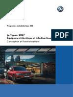 SSP 553 Le Tiguan 2017 Équipement électrique et infodivertissement