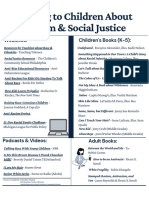 talking to children about racism   social justice