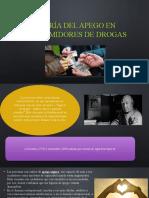 El apego en consumidores de drogas