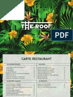 Menu Roof 2020