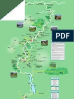 Cameron Highlands Area Map