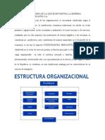 PIMERA ENTREGA GERENCIA ESTRATÉGICA SECTOR DE LA ECONOMÍA Y ESTRUCTURA ORGANIZACIONAL