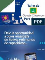 Taller Virtual - Classroom - Para Docentes
