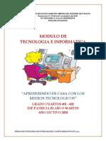 MODULO DE TECNOLOGIA CUARTO