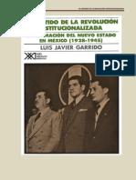 Parte 1 Partido de La Revolucion Institucionalizada
