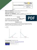 9.1 Guía didácica 2, M. Pendiente de una recta