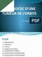 TUMEUR DE L'ORBITE VF.pptx