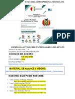 SISTEMA DE JUSTICIA LIBRE FISCALÍA GENERAL DEL ESTADO