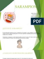 diapositivas el sarampion