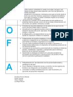 DOFA Politica Exterior De Colombia(1)