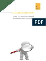 PPT Semana 14 AA Seguimiento de las recomendaciones de auditoría (1)