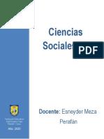 Esneyder  Meza - Guía No. 1. JEC Octavo Sociales