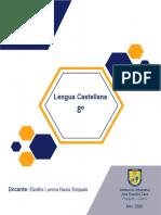 Elveths Lorena Navia Delgado - Guía No. 2 JEC Lengua Castellana Grado Octavo