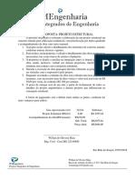 CARTA PROPOSTA - ESTRUTURAL  E ACOMPANHAMENTO DA OBRA