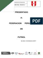 Investigación Partido Perú Bolivia Agosto 2017 FPF - Informe 02