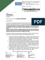 Rta ministerio de trabajo del derecho de peticion.pdf.docx