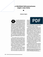 Laidentidad latinoamericana según Juan Acha
