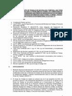 Informe sobre repartidores y plataformas digitales (Perú, MTPE)