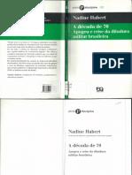 A década de 70 - Nadine Habert