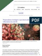 Pesquisadores investigam o que desencadeia fase inflamatória da covid-19 - 23_05_2020 - UOL VivaBem