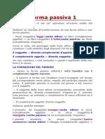 Forma Passiva, avverbi, interiazione, conettori, congiunzioni