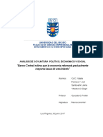 Informe Macroeconomía I