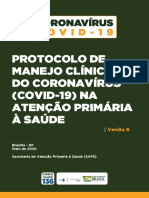 Protocolo Manejo Clínico do Covid-19 Versão 09