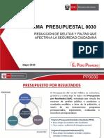 PROGRAMA PRESUPUESTAL 0030 seguridad ciudadana.pdf