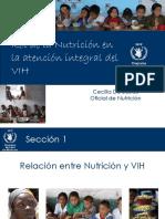 C. De Bustos. Nutricion y VIH. PMA