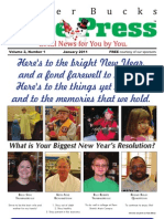 Upper Bucks Free Press, January 2011 edition