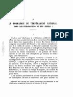 Wulf 1921 La formation du tempérament national dans les philosophes du xiii siècle
