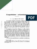 Wulf 1931 L'augustinisme avicennisant