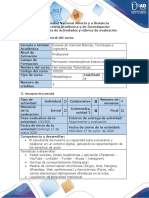 Guia de actividades y rubrica de evaluacion Tarea 2 -Uso de herramientas de colaboración en la web