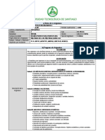 Programa de la asignatura Estadística Para Ingenieros I (MAT-135-001) 13 semanas (2-2020)