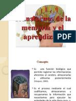 TRANSTORNOS DE LA MEMORIA LIMPIO