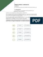 Guía NÚMEROS PRIMOS Y COMPUESTOS