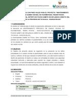 ESTUDIO DE SUELOS CON FINES VIALES