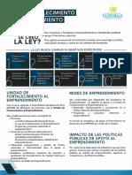 Características Ley de emprendimiento