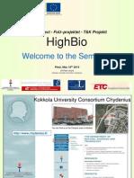 HighBio Seminar -Piteå 1805-2010 Ulf-Peter Granö