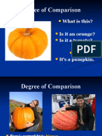 Degree of Comparison - Simple style