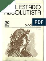 Anderson, P. El estado absolutista