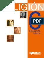 Libro de religión - sexto básico