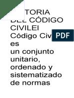 HISTORIA DEL CÓDIGO CIVILEl Código Civil es un.docx