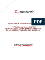 Directiva 004-2018-CG-DPROCAL Monitores Ciudadanos de Control