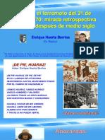 Terremoto de 1970 en Áncash, Retrospectiva y Desafíos
