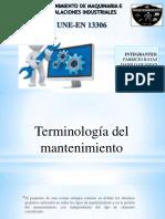 EN 13306 TERMINOLOGIA DEL MANTENIMIENTO