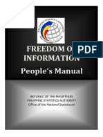 FOI Annex B Peoples Manual final
