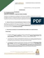 COMUNICADO RAFAEL RAMÍREZ Y MANUEL ALTAMIRANO