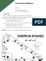 TRILHA DO TEOREMA DE PITAGORAS