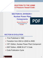 Introduction to ASME Section III Div1